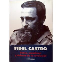Fidel Castro, patria,...